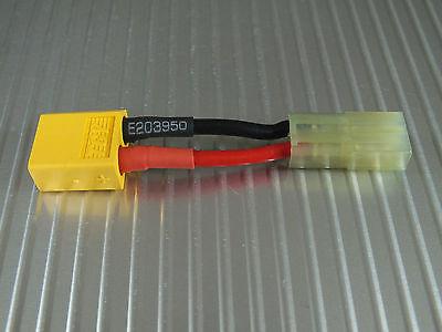 Ladekabel Adapter Adapterkabel XT 60 (Stecker) auf mini Tamiya  (Stecker)