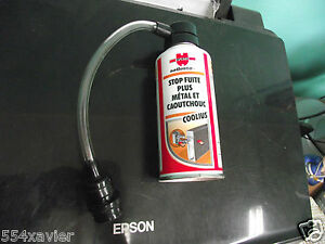 stop fuite climatisation auto produit wurth avec raccord colmate les micro fuite ebay. Black Bedroom Furniture Sets. Home Design Ideas