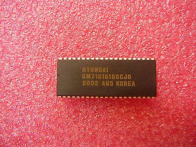 Hyundai/hynix Gm71c16160cj-6 Fpm Dram Chip 2mbyte 5v Supply Soj 42-pin