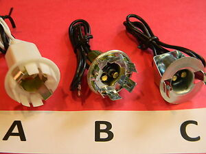 sockets bulbs automotive 1157 1154 6 12 volt brake tail light blinker. Black Bedroom Furniture Sets. Home Design Ideas
