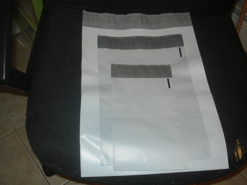 15 COMBO Poly Mailer Envelope Shipping Bags Self Seal 8(6X9),4(9X12),3(12X15.5)~