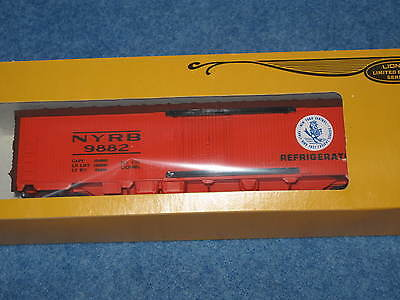 1979 Lionel 6-9882 York Central Reefer Nyc In Box L1001