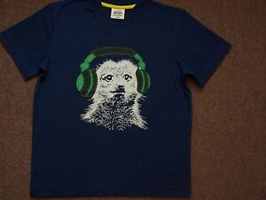 BOYS EX MINI BODEN SHORT SLEEVE TOP TSHIRT 2 3 4 5 6 7 8 9 10 11 12 13 14