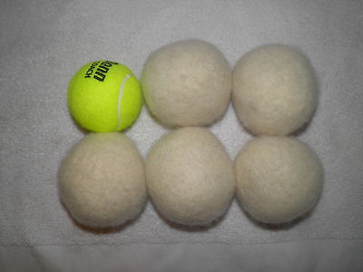 Set of 5 Eco-Friendly 100% Wool Dryer Balls on Rummage