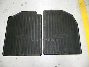 GENUINE FORD UNIVERSAL RUBBER FLOOR MATS TERRITORY