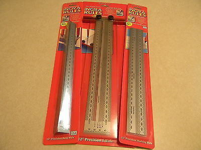 INCRA 300mm  Metric 3 piece rule set
