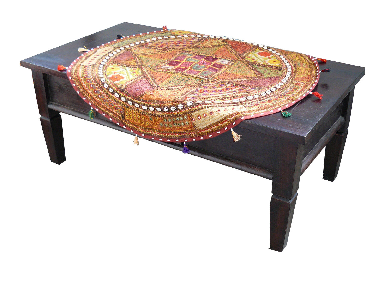 tischl ufer wandteppich wandbehang tisch decke patchwork indien orient goa yoga eur 27 99. Black Bedroom Furniture Sets. Home Design Ideas