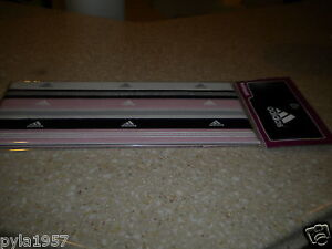 NEW-ADIDAS-HAIRBANDS-SPORT-BANDS-TENNIS-HEADBANDS-PINK-BLACK-WHITE