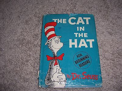 THE CAT IN THE HAT by Dr. Seuss/1st Ed/1st Prt/HCDJ/Childrens/Literature/Fantasy