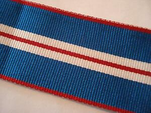 Queens-Golden-Jubilee-Medal-Ribbon-Full-Size-Army-British-Military-E11R