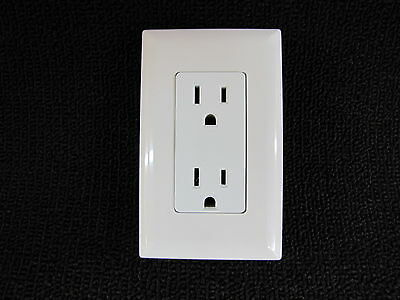 Mobile Home Rv Parts Self Contained Outlet Includes Cover Plate White