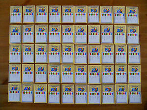 50-Trivial-Pursuit-Question-Cards-20th-Anniversary-Edition-2004-VGC