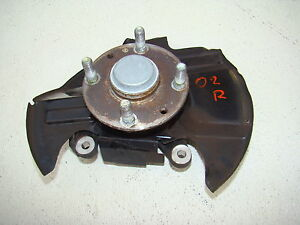 MAZDA-MIATA-SPINDLE-HUB-01-02-03-04-05-FRONT-RIGHT-MX5-OEM-W-O-ABS