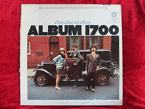 Peter, Paul and Mary Album 1700 WS 1700 LP