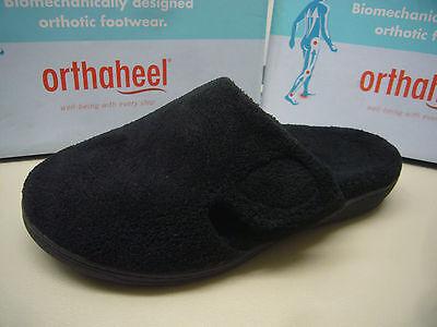 Vionic W/orthaheel Technology Womens Slippers Gemma Black Size 5