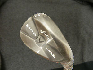 NEW-CALLAWAY-X-SERIES-JAWS-CC-SLATE-56-SAND-WEDGE-SW-56-12-WEDGE-FLEX-STEEL