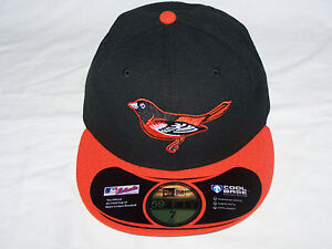 NW Baltimore Orioles 59FIFTY New Era Fitted Cool Base Baseball Hat BLACK