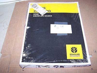 New Holland Dc95 Crawler Dozer Parts Catalog Manual