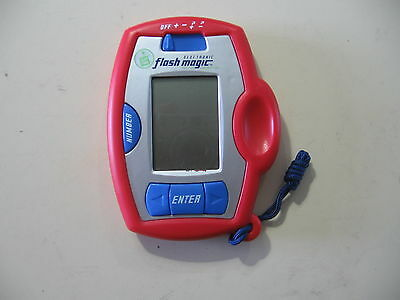 Flash Magic Addition   Subtraction Handheld  By Leap Frog  Good Condition