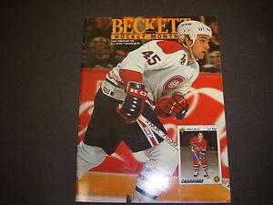 Beckett-Hockey-Monthly-Magazine-June-1992-Gilbert-Dionne-Montreal-Canadiens