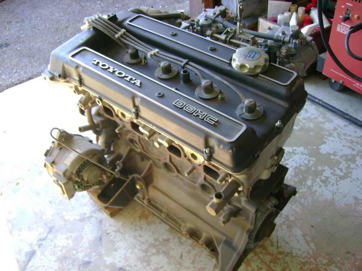 TRD Toyota 18RG JDM Engine Celica GT Corolla RA21 2TG on
