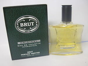 BRUT ORIGINAL EdT 3 x 100ml EAU DE TOILETTE Vapo Spray  PARFUMS PRESTIGE