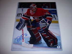 PATRICK-ROY-MONTREAL-CANADIENS-HOF-W-COA-SIGNED-11X14-PHOTO