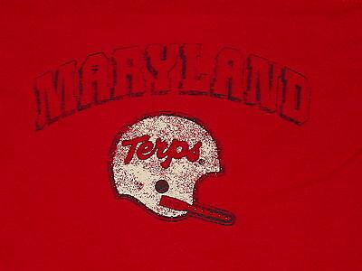 Umd Maryland Football Terrapins Terps  Long Sleeve Womens T Shirt  Nwt     Small