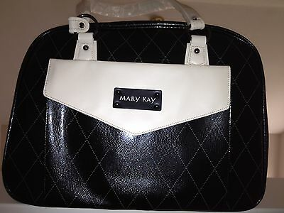 Lot Of 2 Mary Kay Starter Kit Consultant Bag Black With Gray Tote You Get 2