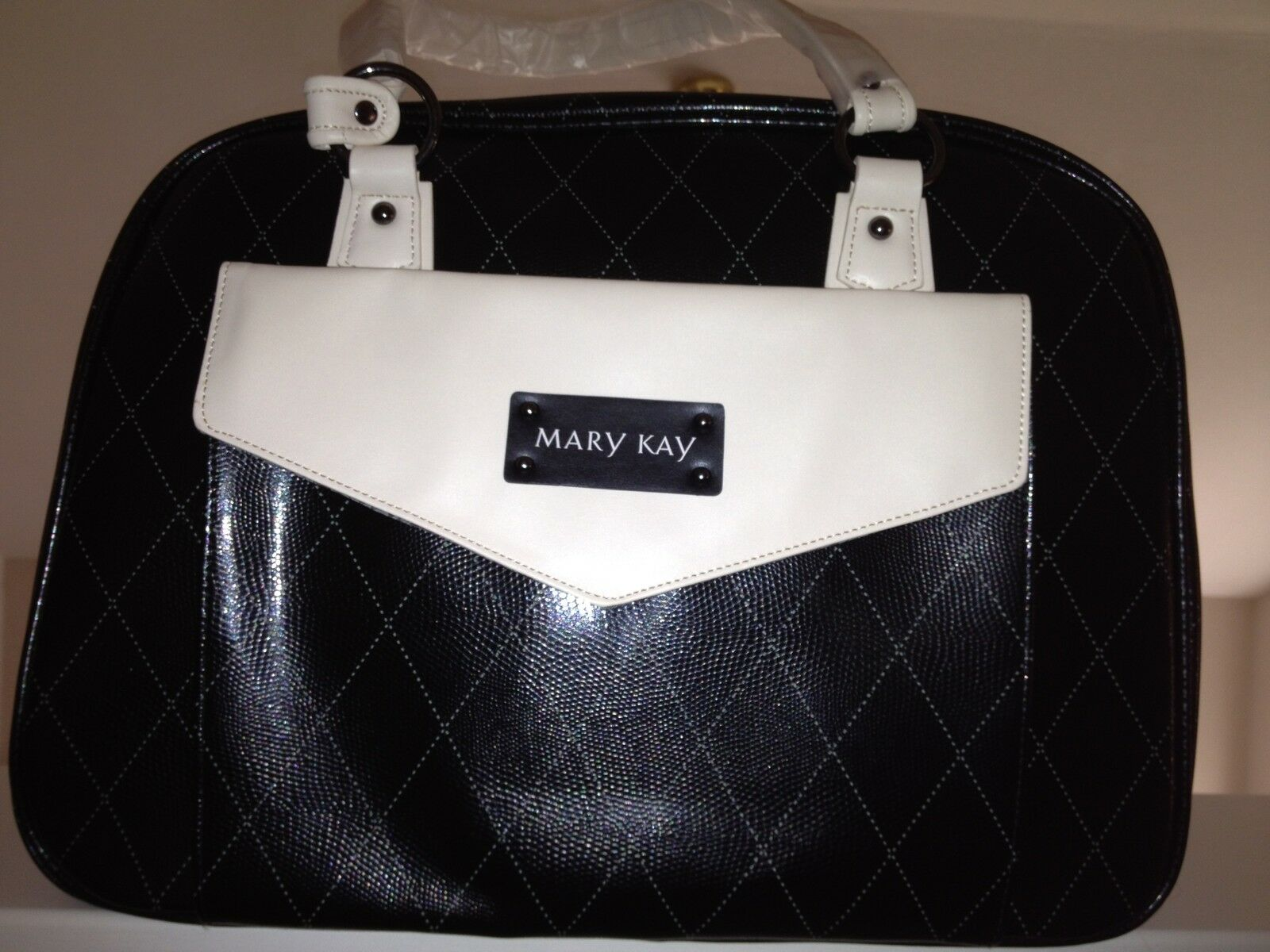 Mary Kay Starter Kit Consultant Bag With Gray Tote & 2 Mirrors In Zip Bags