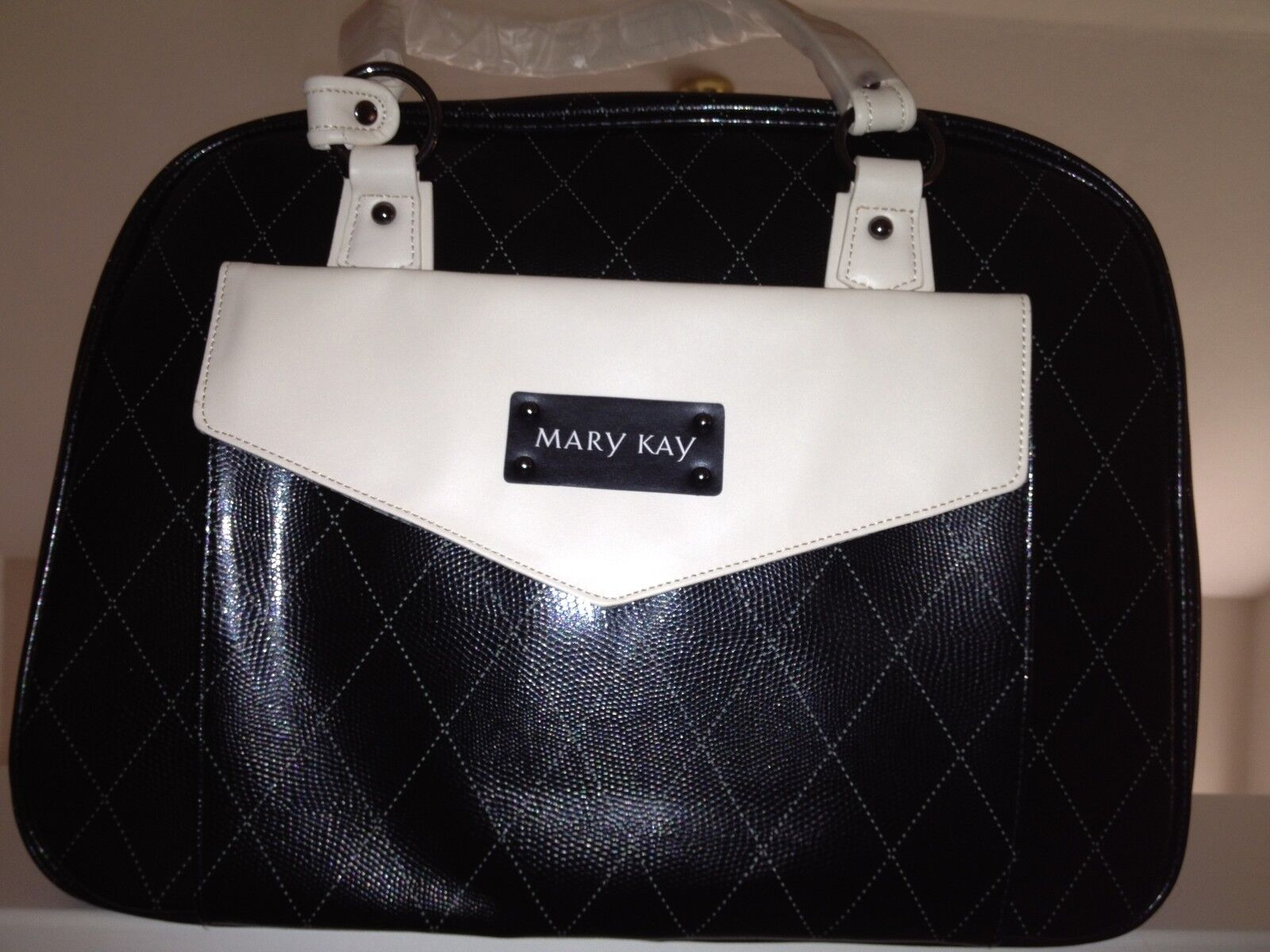 Mary Kay Starter Kit Consultant Bag Black With Gray Tote