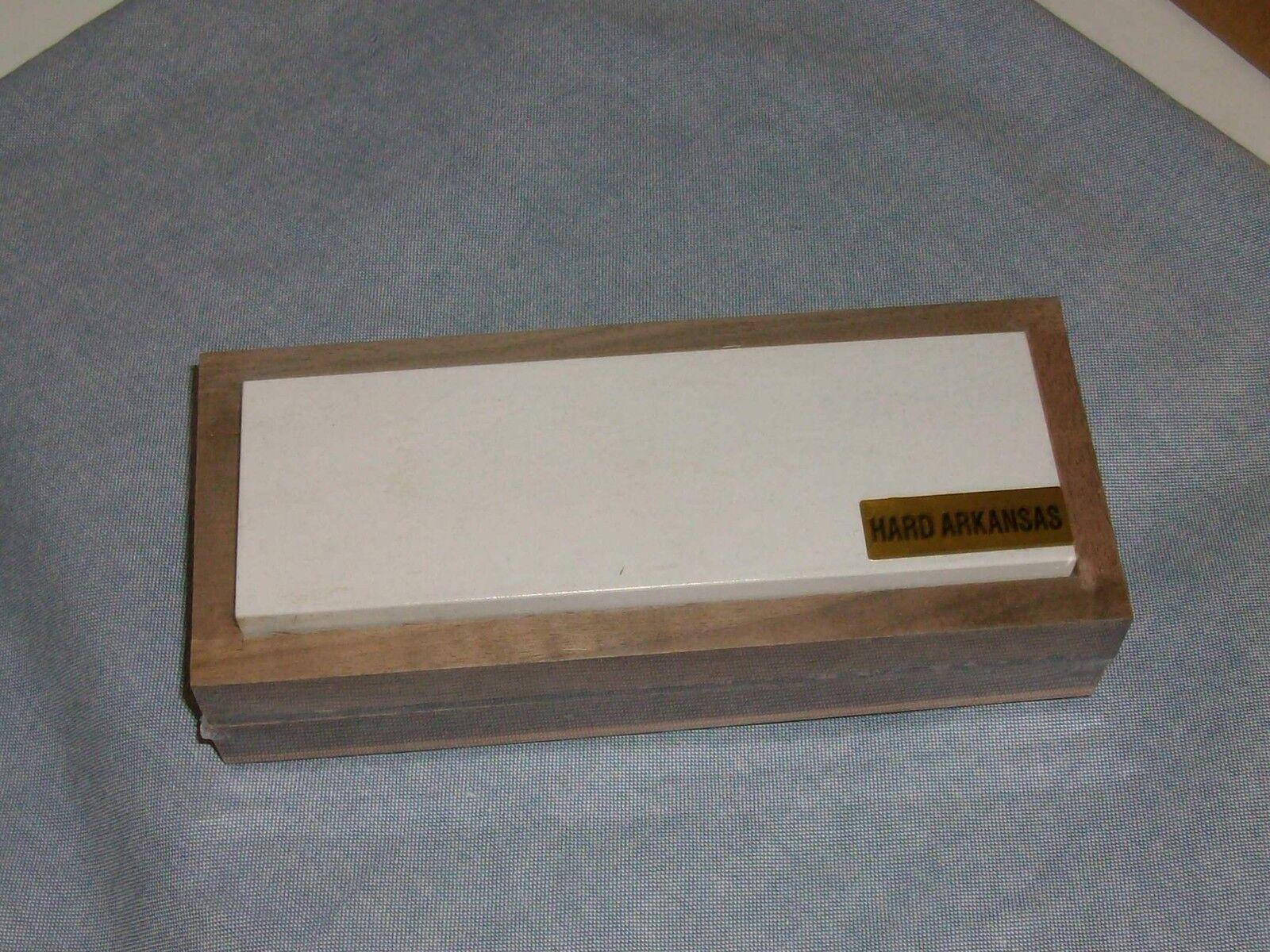 Arkansas Sharpening Stone - Hard - Fine 6 X 2 Boxed