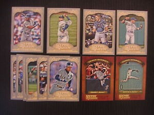 2012-TOPPS-GYPSY-QUEEN-SEATTLE-MARINERS-SP-MASTER-TEAM-SET-12-CARDS-KEN-GRIFFEY