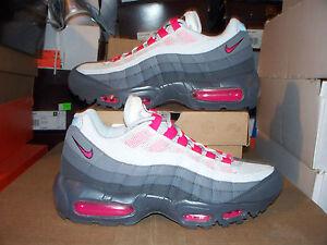 Womens-Nike-Air-Max-95-145-Cherry-Pink-COOL-GRAY-8-2012-2011-24-7-2010-95-90