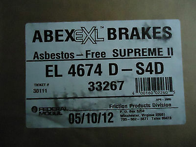 Federal Mogul Abex # EL4674D (NEW)