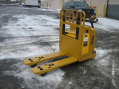 2004 Yale Forklift Electric 6000 Walk Behind Jack Hd Self Propelled Clean Unit