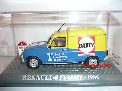Renault 4 F6 Darty 1986 Au 1/43°