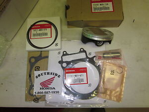 GENUINE OEM HONDA TOP END KIT CRF450X 2005-2009