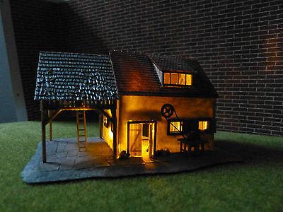 """Flackerlicht Feuer """"Brennendes Haus"""" zu H0 N TT Z  funktionsfertiges LED-Modul"""