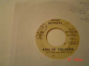 BOYD-BENNETT-ON-BENJON-102-RARE-BA-BAH-VG-PLAYS-V-TO-V-KISS-OF-THUNDER