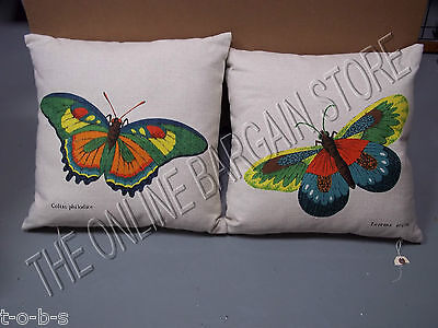 Frontgate Grandinroad Butterfly Very Hungry Caterpillar Reversible Throw Pillow