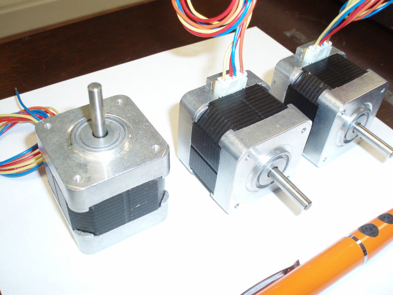 Minebea step stepper motor 17pm k101 03v frame size 17 for How to size a stepper motor
