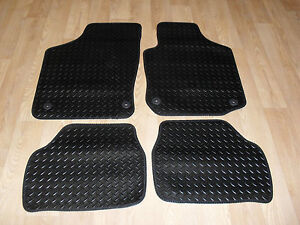 vauxhall corsa rubber car mats ebay. Black Bedroom Furniture Sets. Home Design Ideas