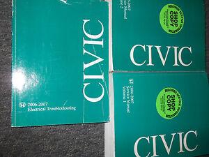2007-07-HONDA-CIVIC-Shop-Repair-Service-Manual-SET-FACTORY-OEM-BOOKS-DEALERSHIP