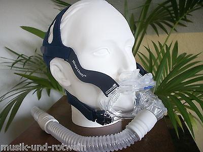 """Resmed CPAP-Fullface Maske """"Mirage Liberty"""" Gr. L/Large NEU/OVP!!"""