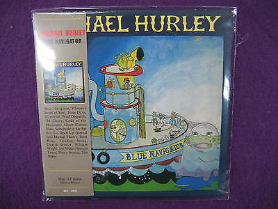 Michael Hurley / Blue Navigator  MINI LP CD NEW SEALED on Rummage