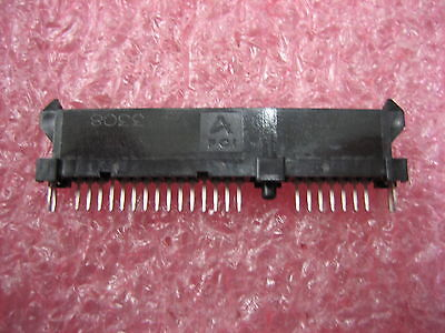 Lot Of 48 Fci 10017660-001lf Sata 22position Vertical Pcb Connector Through Hole