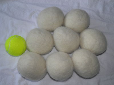 Set of 8 Eco-Friendly 100% Wool Dryer Balls on Rummage