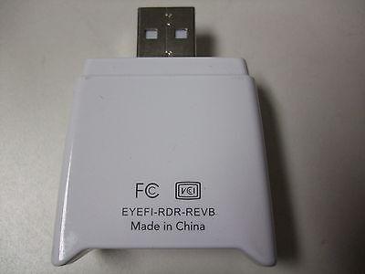 Eye-Fi USB Card Reader USB connection SD card reader MODEL: EYEFI-RDR-REVB