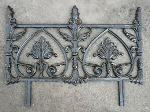 Reclaimed Cast Iron Railing Garden Edging Gates & Railings